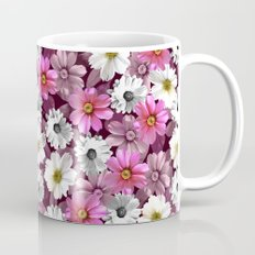 Cosmos and Marigolds Mug