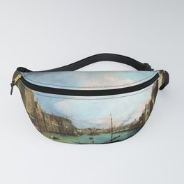Canaletto The Grand Canal in Venice with the Palazzo Corner Ca'Grande Fanny Pack