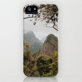 Tijuca Forest iPhone Case