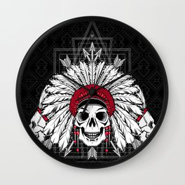 Southern Death Cult Wall Clock