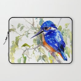 Kingfisher on the Tree Laptop Sleeve