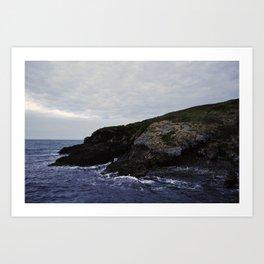 Rocky Island  Art Print