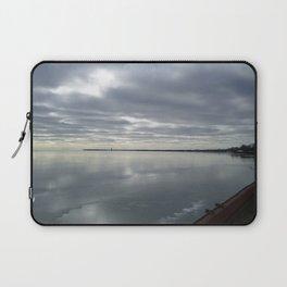 Icy Michigan Lake #3 Laptop Sleeve