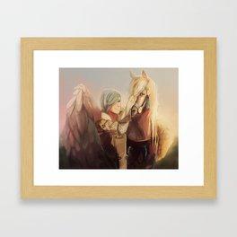 Shigure Framed Art Print