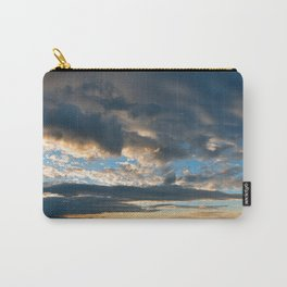Vibrant Sunrise Cloudscape Carry-All Pouch