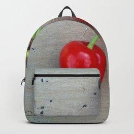 Twin Cherries Backpack