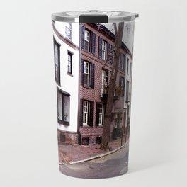 Quaint Philadelphia Streets Travel Mug
