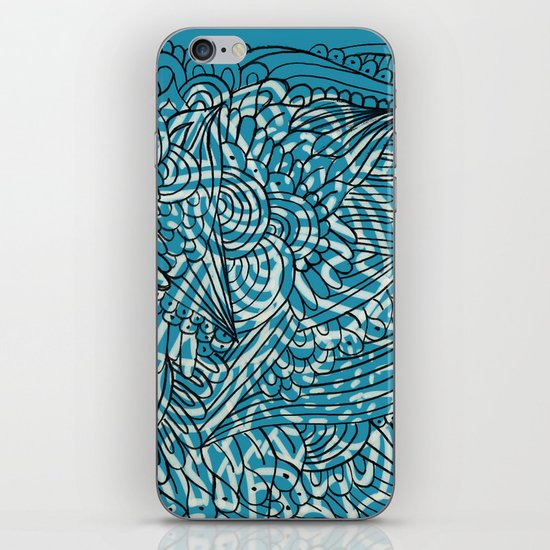 Sea of Everything iPhone & iPod Skin