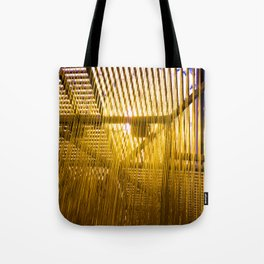 LACMA Yellow Hair Tote Bag
