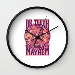 Dr Teeth Merch Wall Clock