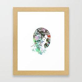Fantasy girl 4 Framed Art Print