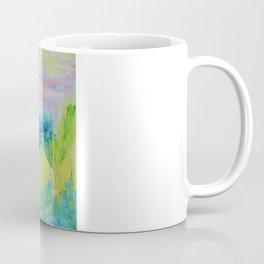 DREAM-SCAPE - Amazing Idyllic Nature Theme Pastel Dream Landscape Abstract Acrylic Painting Coffee Mug