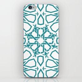 Moroccan Mosaic Blue iPhone Skin