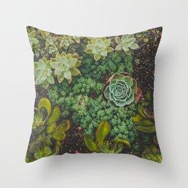 Botanical No. 4224 Throw Pillow