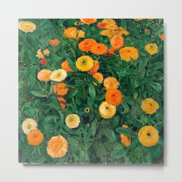 Marigolds by Koloman Moser, 1909 Metal Print