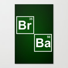 Breaking Bad 1 (Br 35 Pillow) Canvas Print
