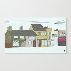 Sea rd. Galway city, Ireland. Canvas Print