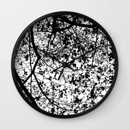Witnessing Trees Wall Clock