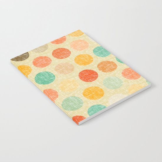 vintage dot Notebook