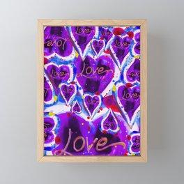 LOVE Framed Mini Art Print