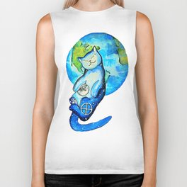 Earth Cat Biker Tank