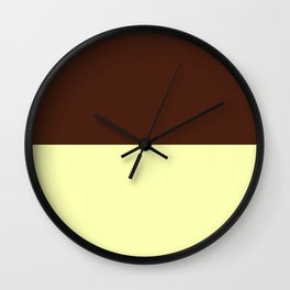 Choc Vanilla Wall Clock