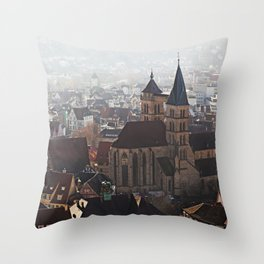 St. Dionys Cathedral Throw Pillow