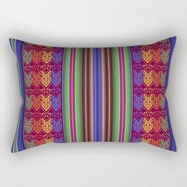 Peruvian Folkart Rectangular Pillow