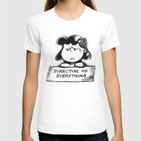 psych T-shirts featuring Director and psych redirector of everything. Ms. Lucy by Kristy Patterson Design