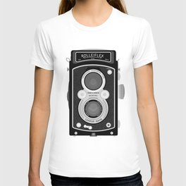 Rolliflex Graphical Print T-shirt