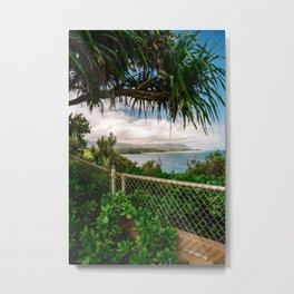 Kilauea Lookout Kauai Hawaii | Tropical Beach Nature Ocean Coastal Travel Photography Print Metal Print