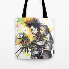 Edward Scissor Hands Tote Bag