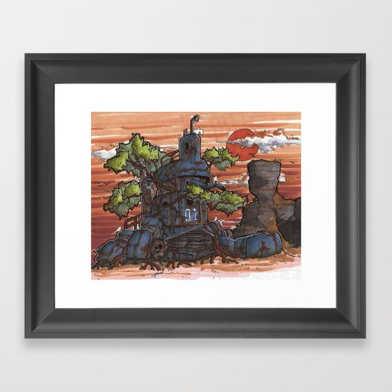 Remnant Framed Art Print