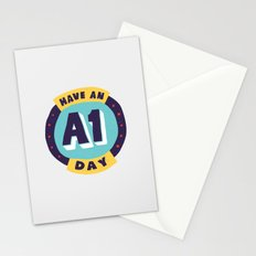 Have an A1 Day Stationery Cards