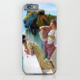Lawrence Alma-Tadema - A Coign Of Vantage - Digital Remastered Edition iPhone Case