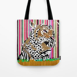 Tiger & His Technicolour Coat Tote Bag