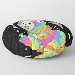 Slimey Space Reaper Floor Pillow