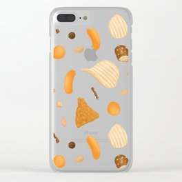 Dirty Finger Snacks Clear iPhone Case