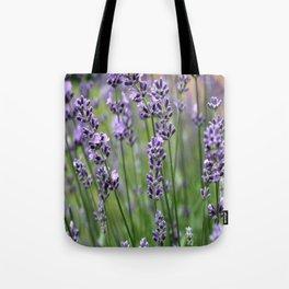 Lavender Plant Tote Bag