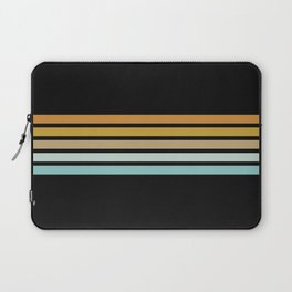 Retro Sunshine Stripes Laptop Sleeve