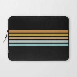 Retro Sunshine Stripes Laptop Sleeve