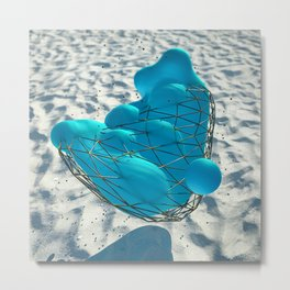 Anamorphic Jewel Metal Print
