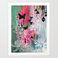 Sacred Shift Art Print