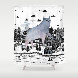 The Fog Shower Curtain