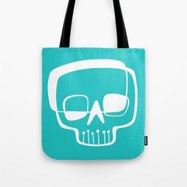 Mid-Mod Skull Tote Bag