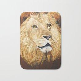 Pantaleon Lion Painting Bath Mat