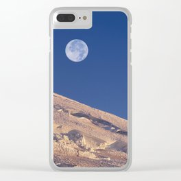 Climbers at Sunrise on Mount Rainier. Clear iPhone Case