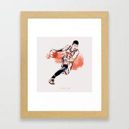 Jeremy Lin Framed Art Print