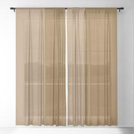 Color Block Abstract XV Sheer Curtain