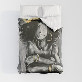 Naturally Queen IX Comforters